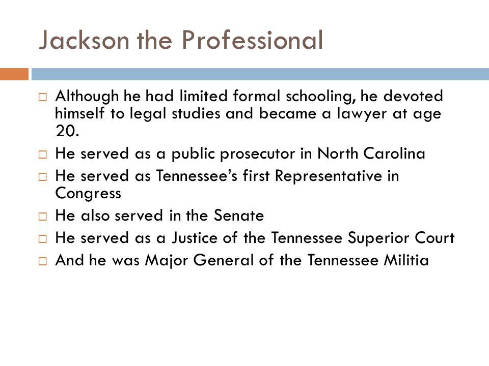 Jackson the Professional