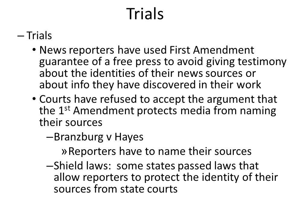 Trials Trials.