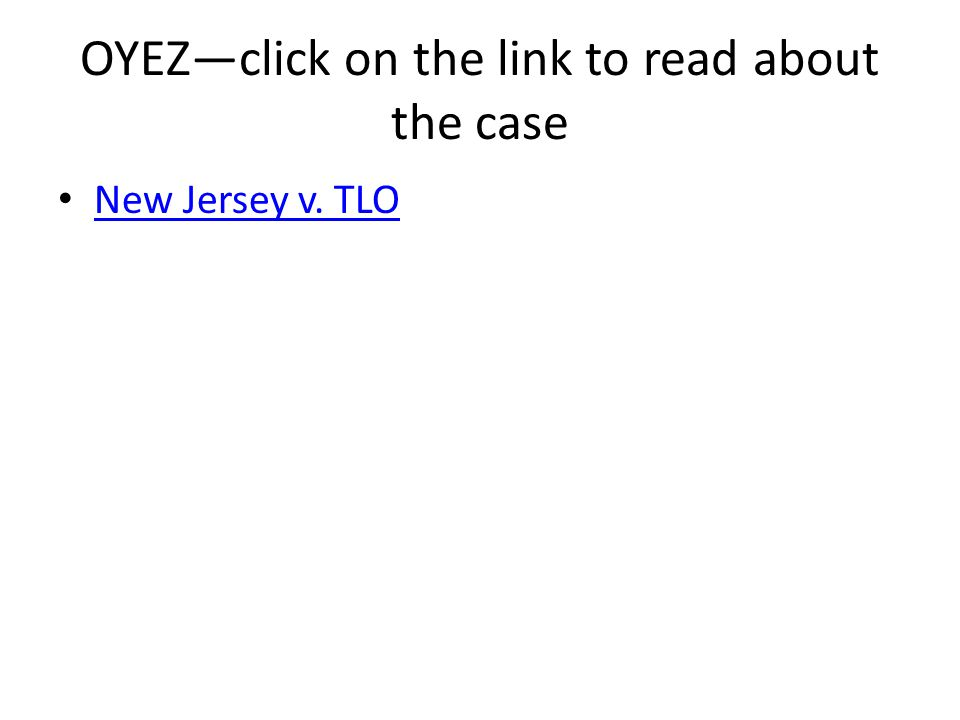 OYEZ—click on the link to read about the case