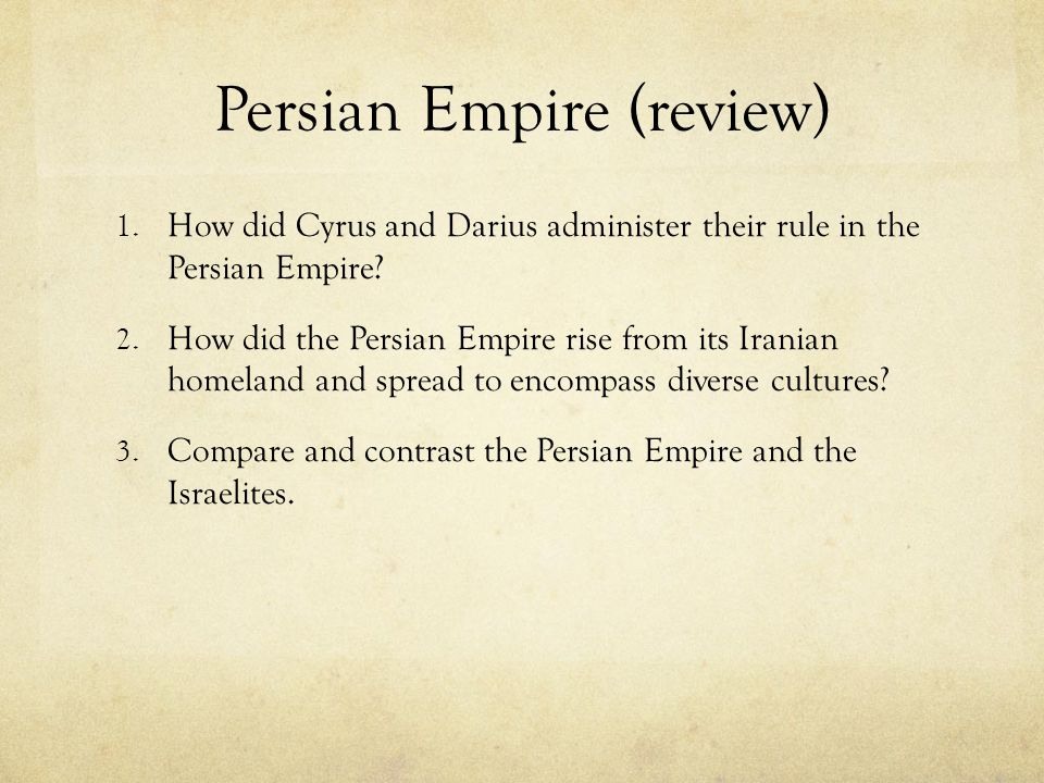 Persian Empire (review)