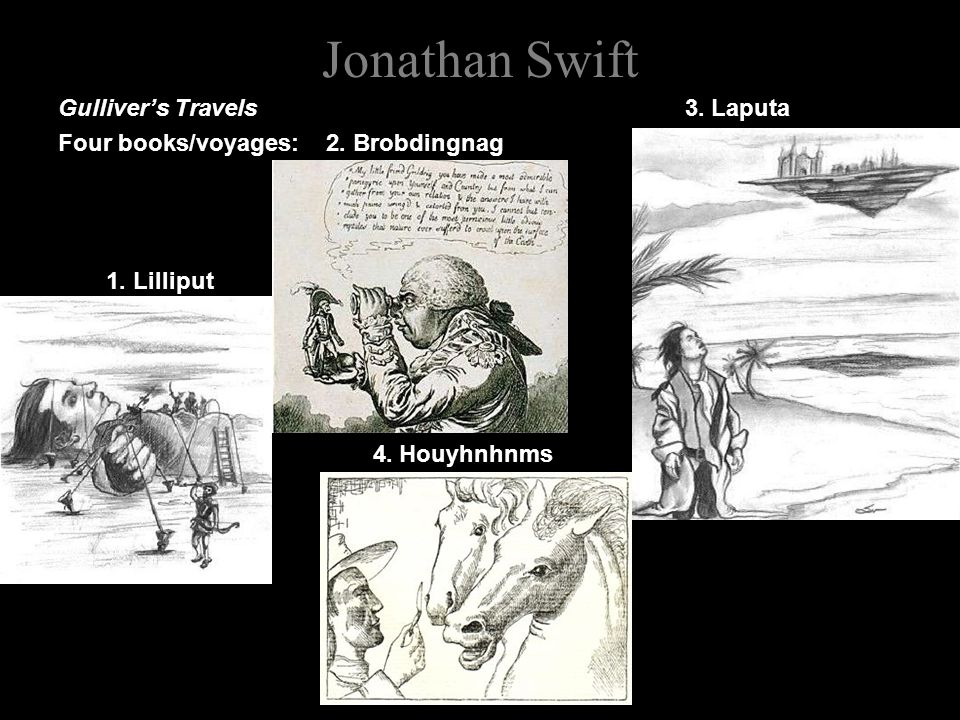 Jonathan Swift Gulliver's Travels 3. Laputa