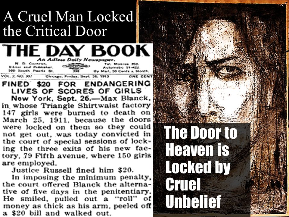 A Cruel Man Locked the Critical Door