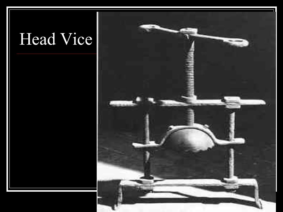 Head Vice