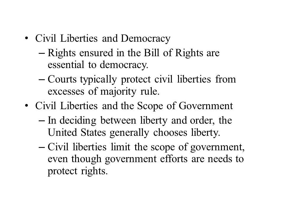 Civil Liberties and Democracy