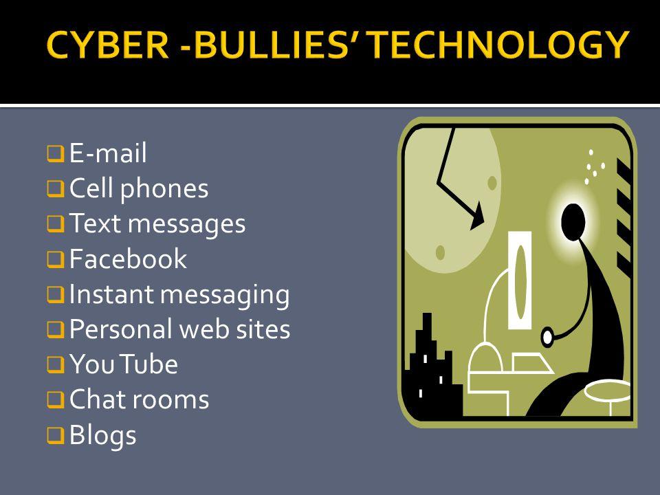 CYBER -BULLIES' TECHNOLOGY