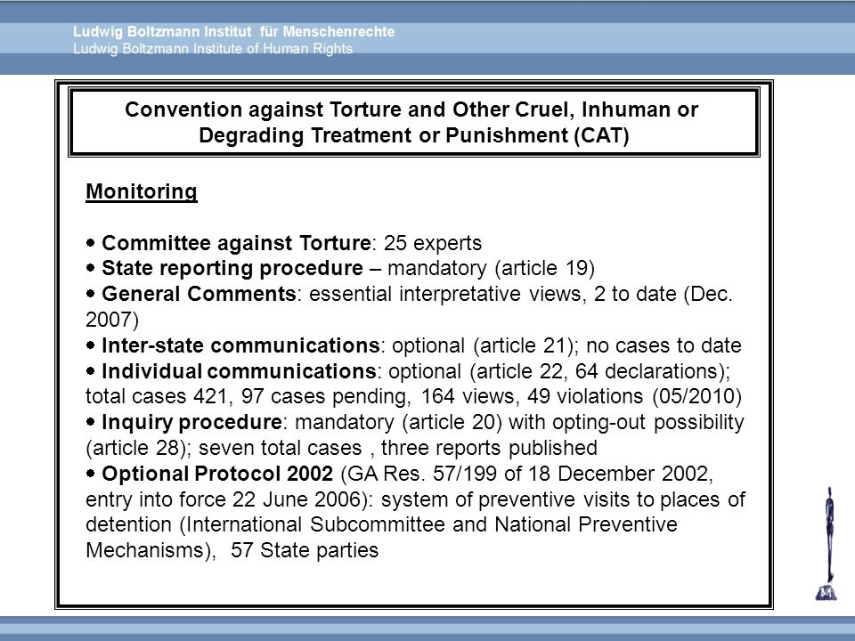 Convention against Torture and Other Cruel, Inhuman or