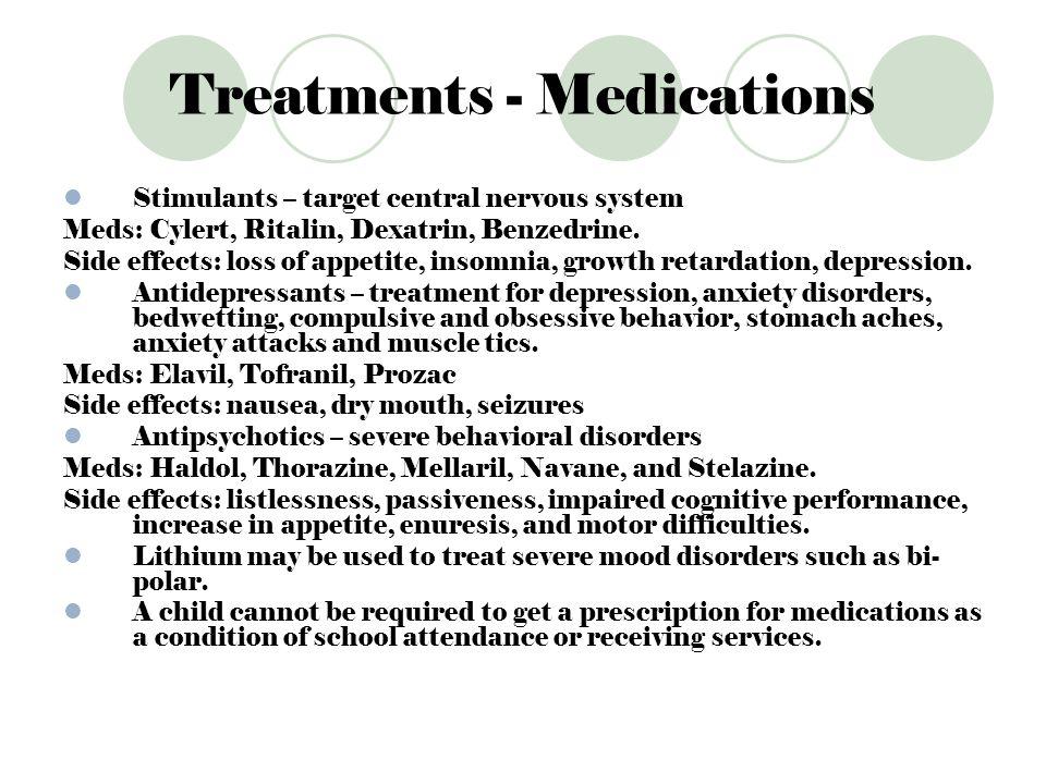Treatments - Medications