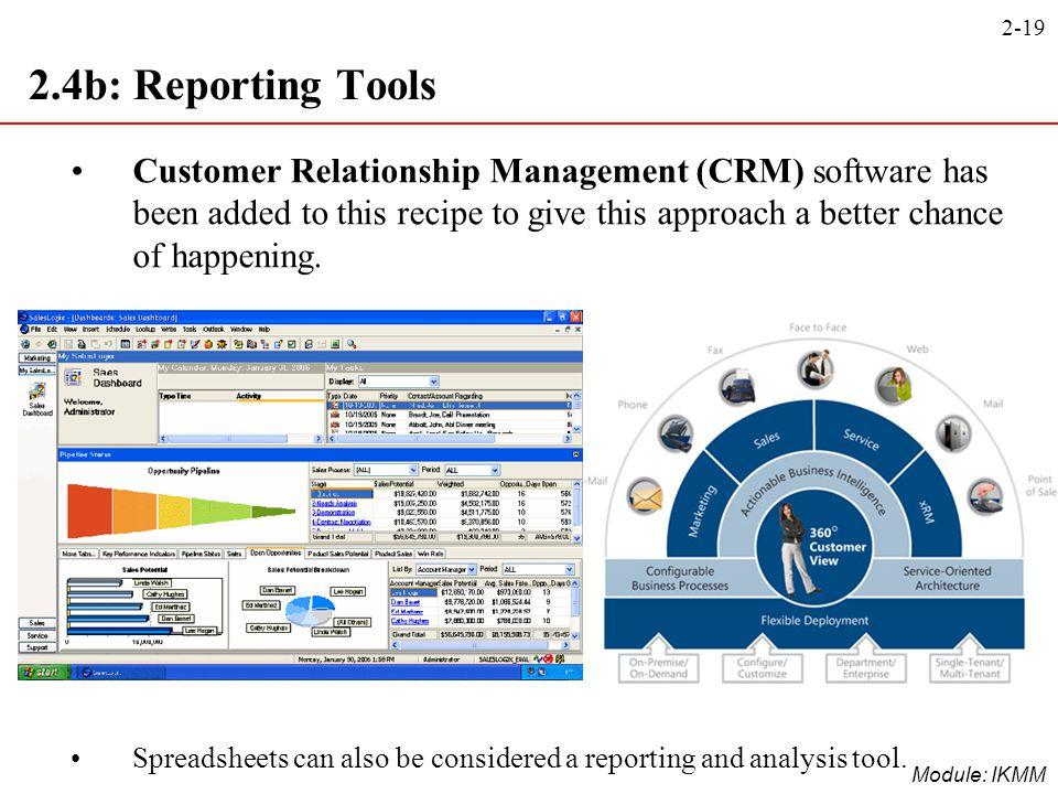 2.4b: Reporting Tools