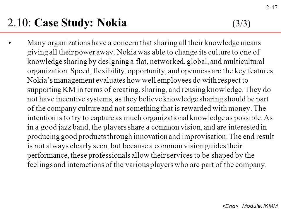 2.10: Case Study: Nokia (3/3)