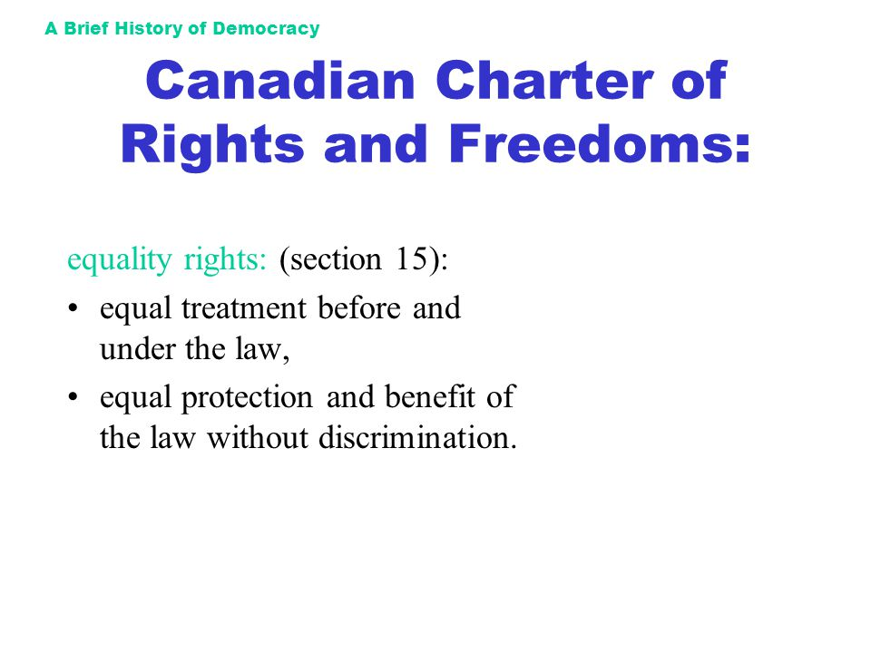 Canada and its history of discrimination and persecution