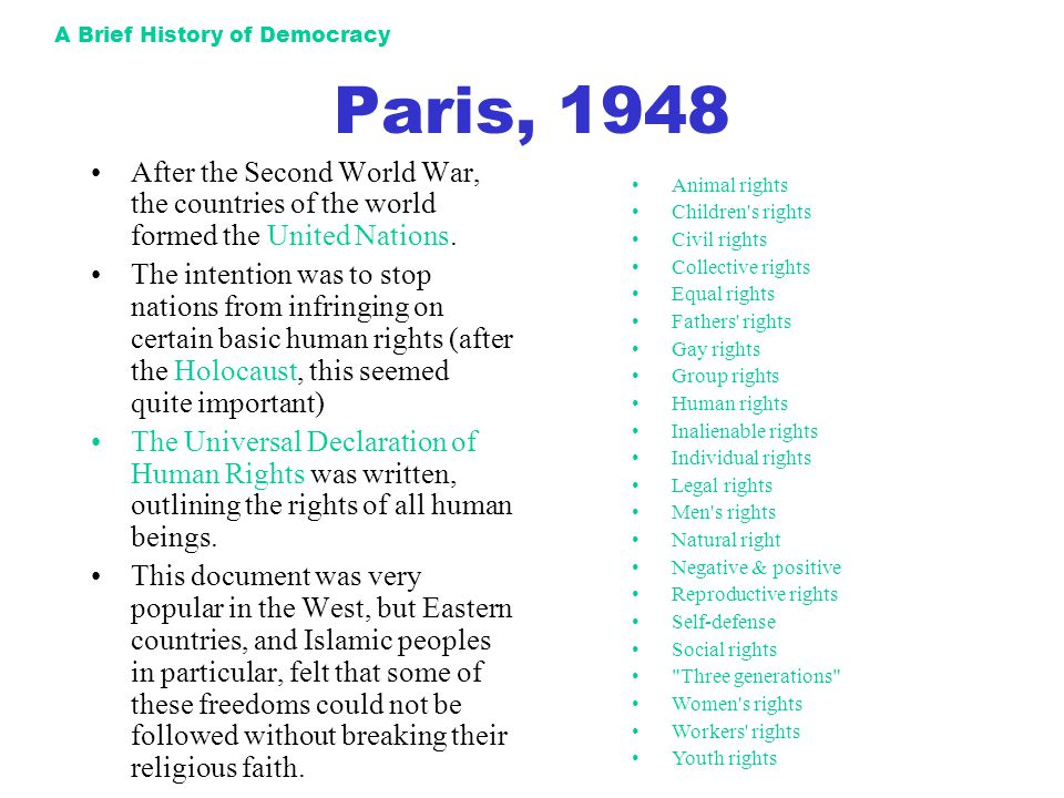 a history of the universal declaration of human rights signed after the world war ii Of the universal declaration of human rights after the devastation of world  war ii  were killed, making world war ii the deadliest conflict in human history.