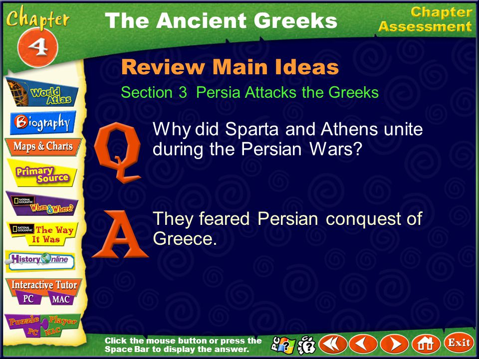 The Ancient Greeks Review Main Ideas