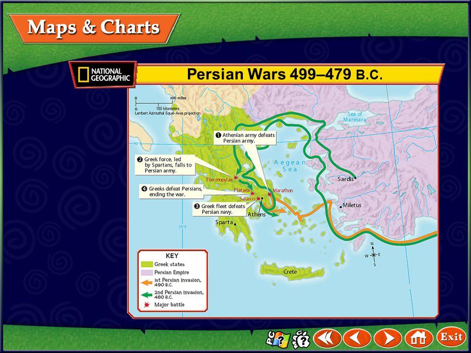Persian Wars 499–479 B.C.