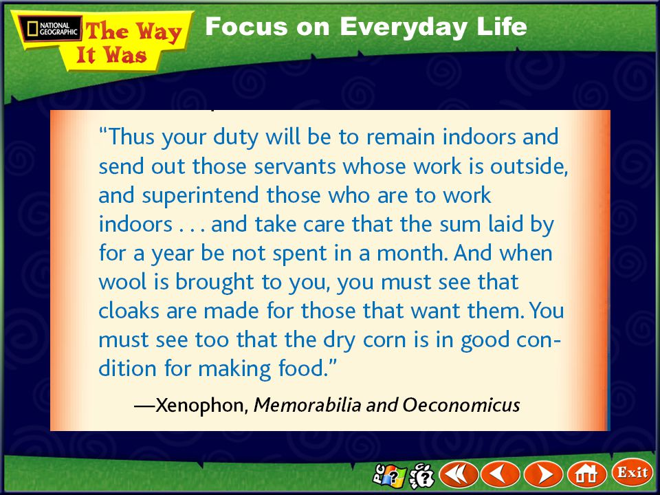 Focus on Everyday Life
