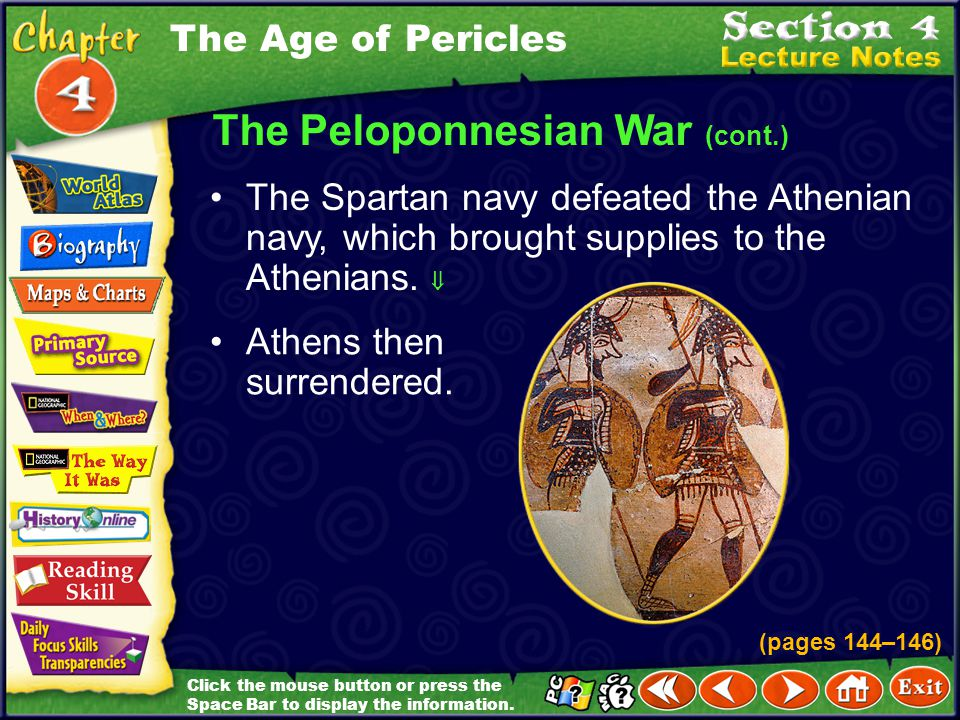 The Peloponnesian War (cont.)