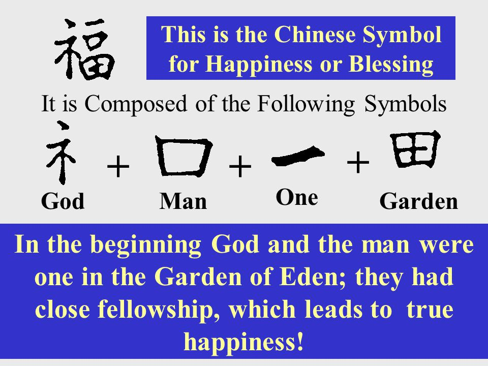 This is the Chinese Symbol for Happiness or Blessing