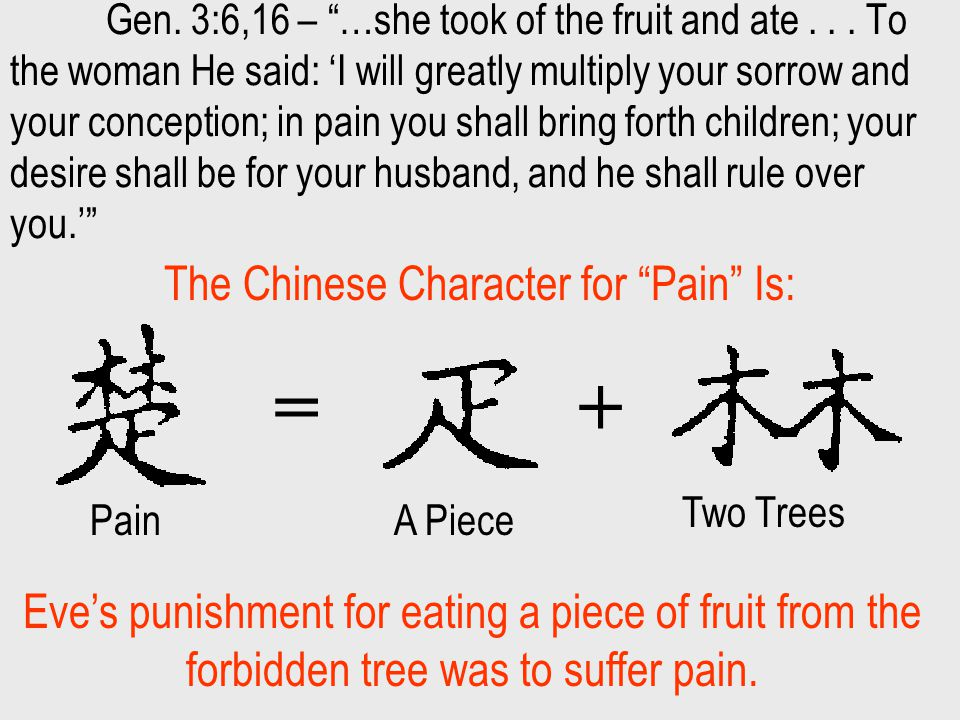 Chinese Characters for Pleasure - Chinese Symbols