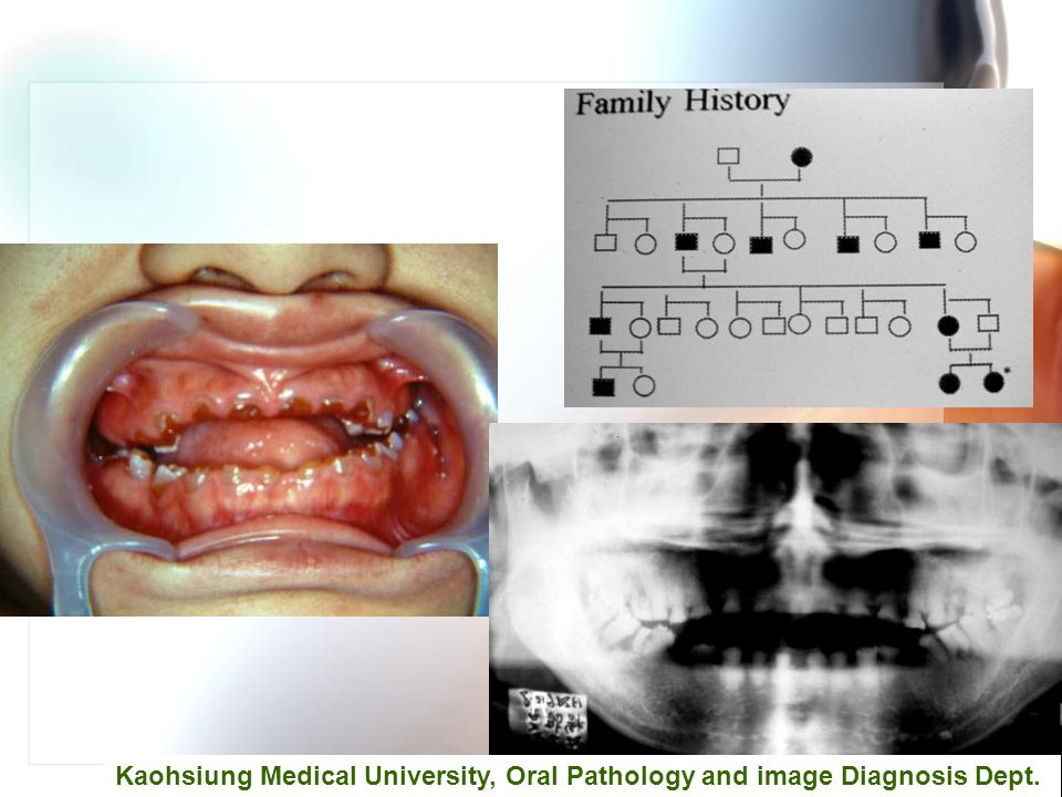 Kaohsiung Medical University, Oral Pathology and image Diagnosis Dept.