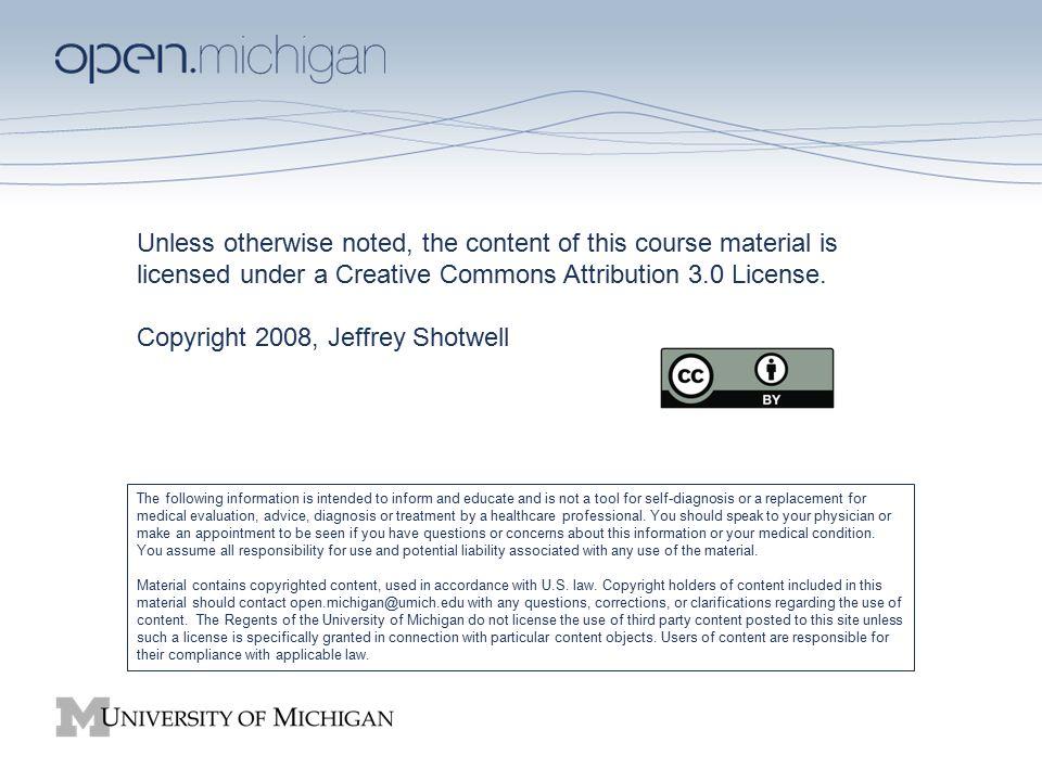 Copyright 2008, Jeffrey Shotwell