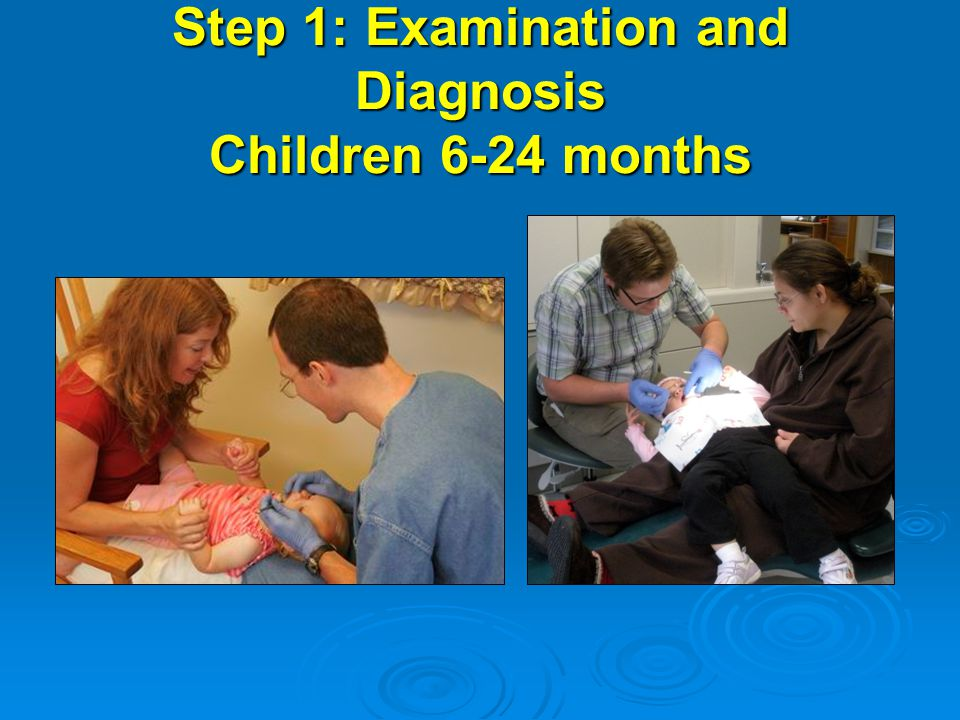 Step 1: Examination and Diagnosis Children 6-24 months