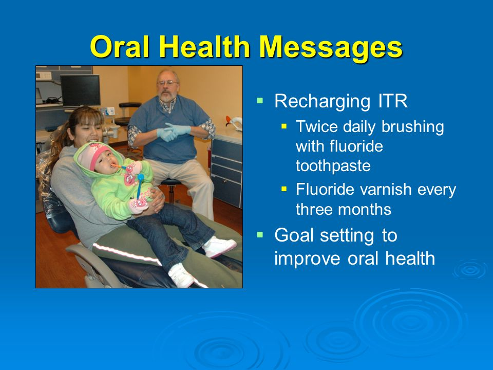 Oral Health Messages Recharging ITR