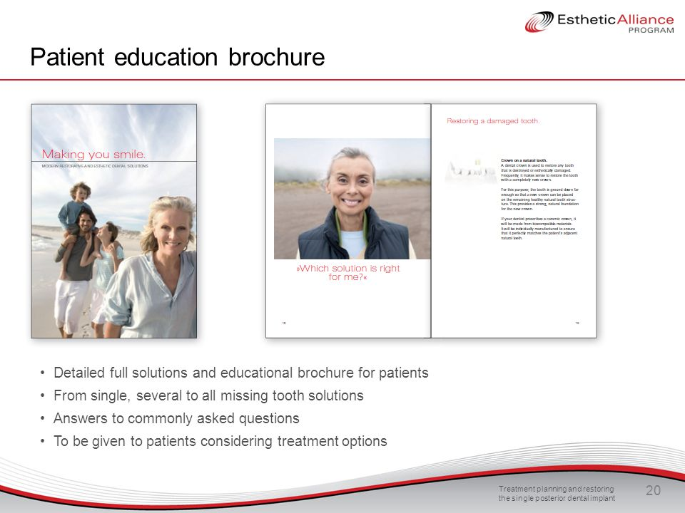 Patient education brochure