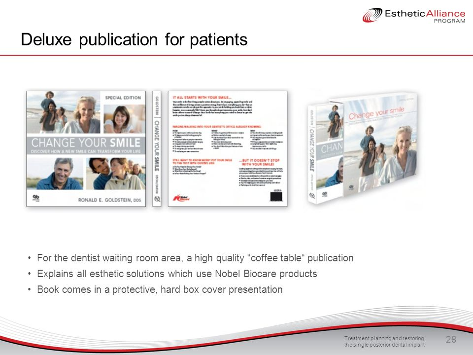 Deluxe publication for patients