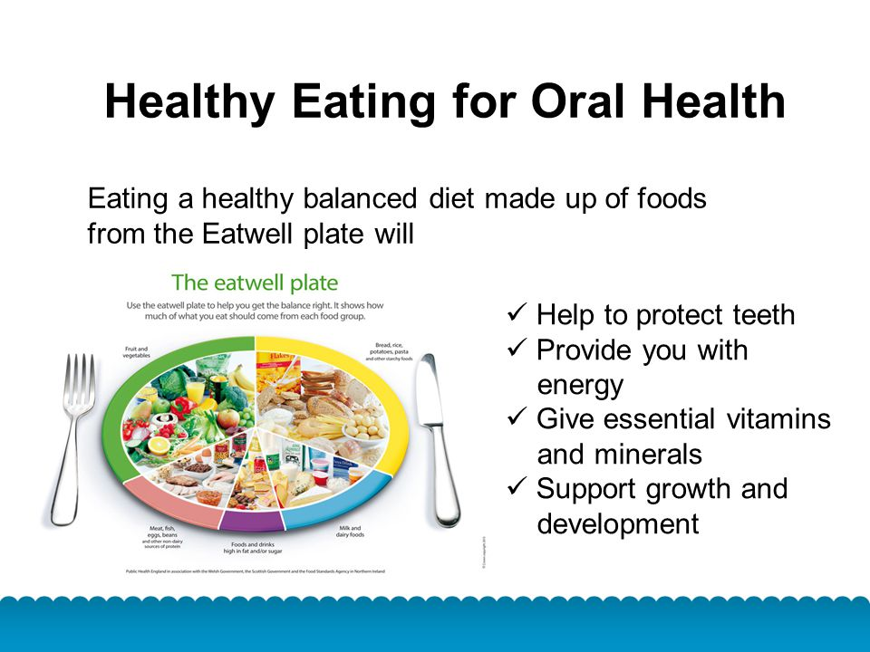 Healthy Eating for Oral Health