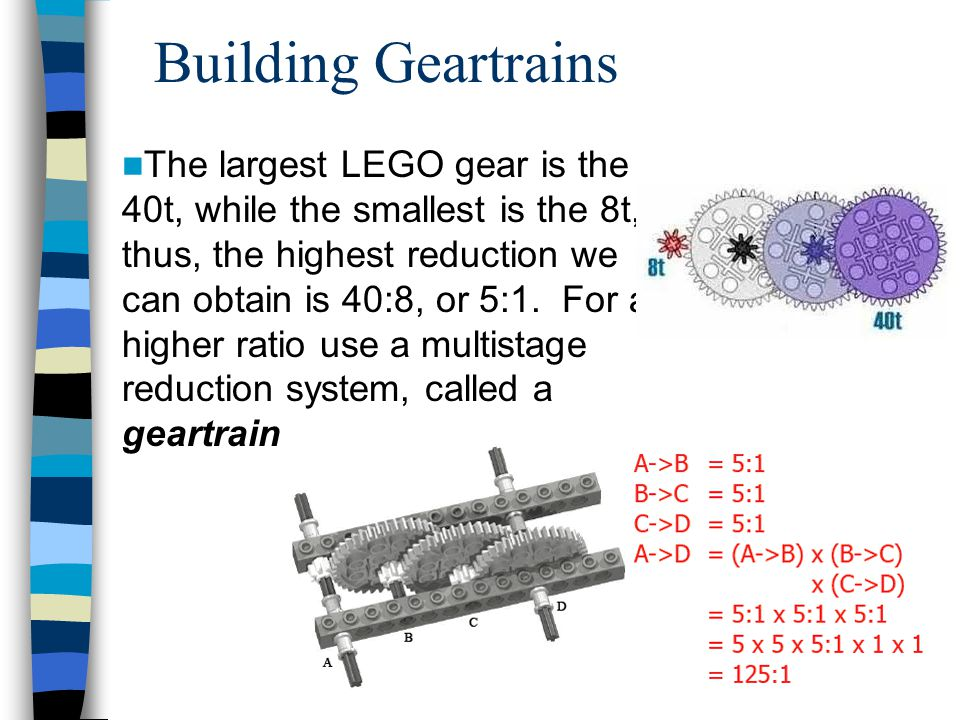 Building Geartrains