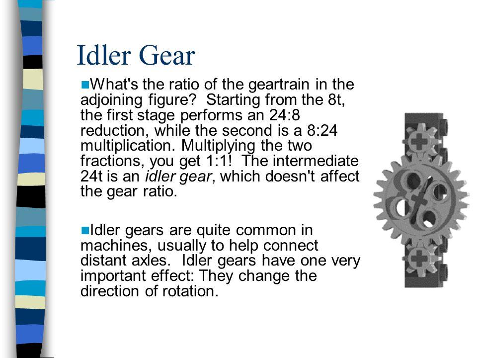 Idler Gear