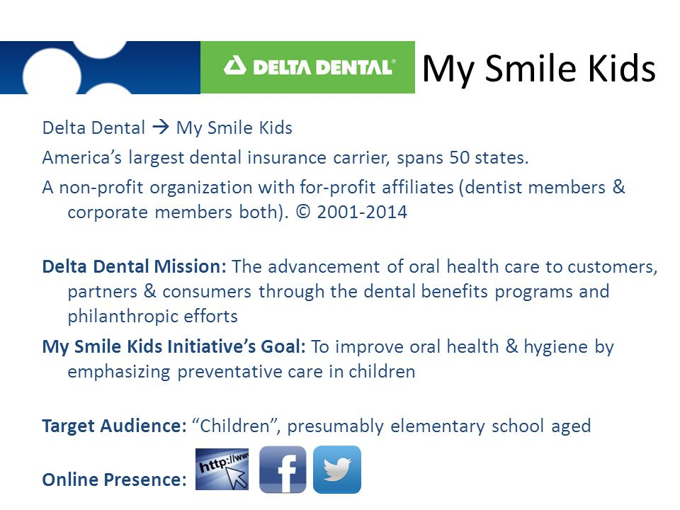 My Smile Kids Delta Dental  My Smile Kids