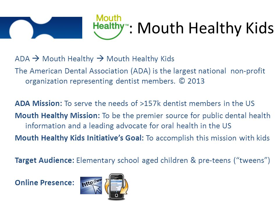 : Mouth Healthy Kids