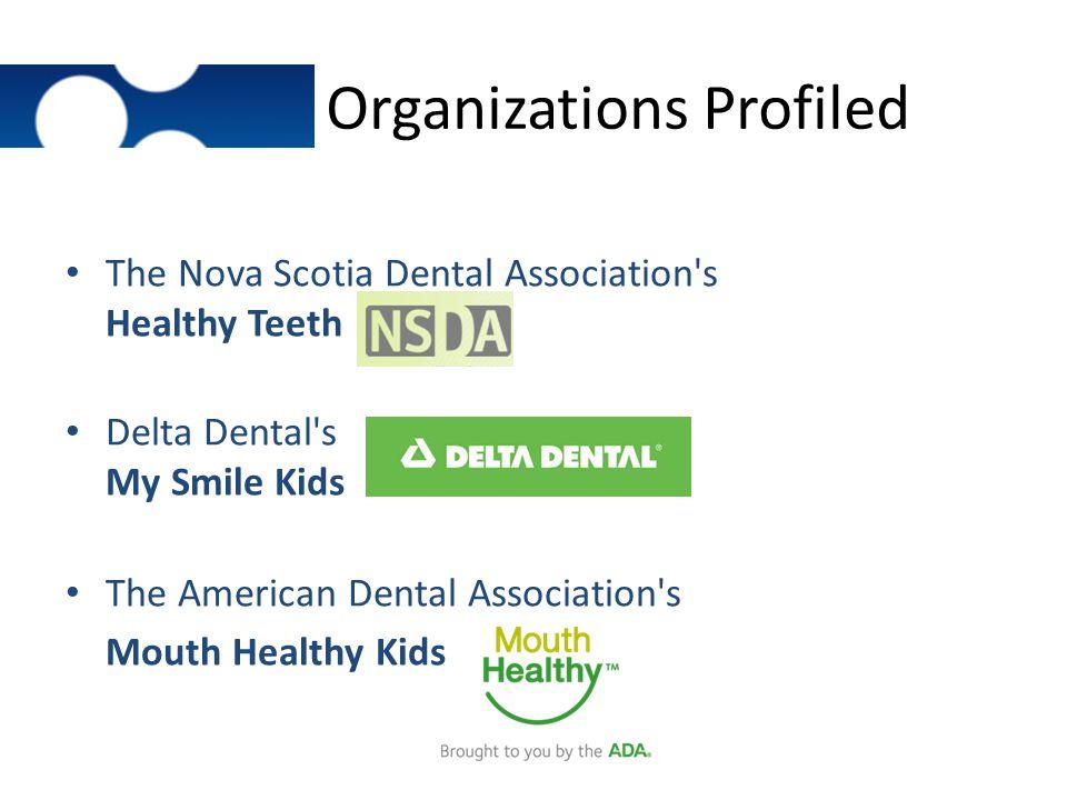 Organizations Profiled