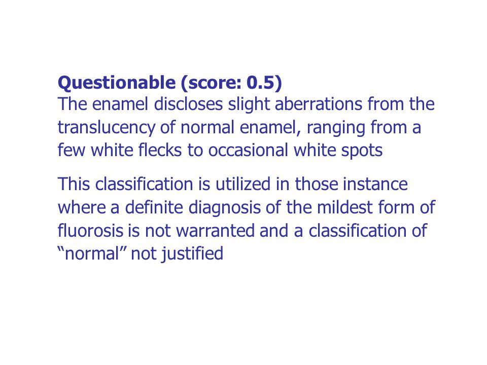 Questionable (score: 0.5)