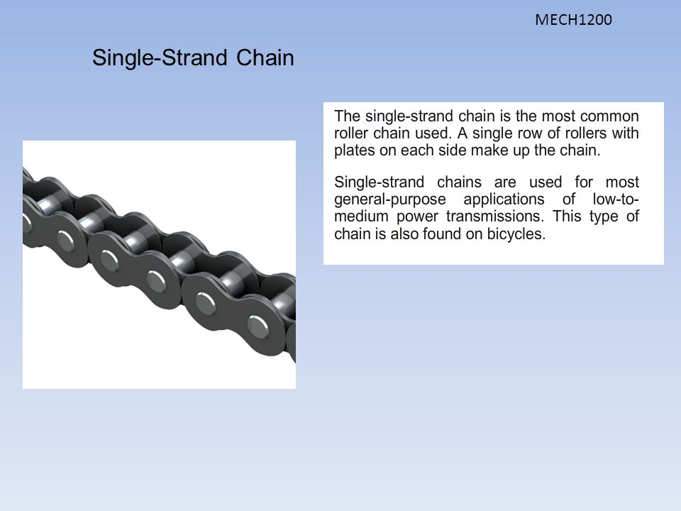 MECH1200 Single-Strand Chain