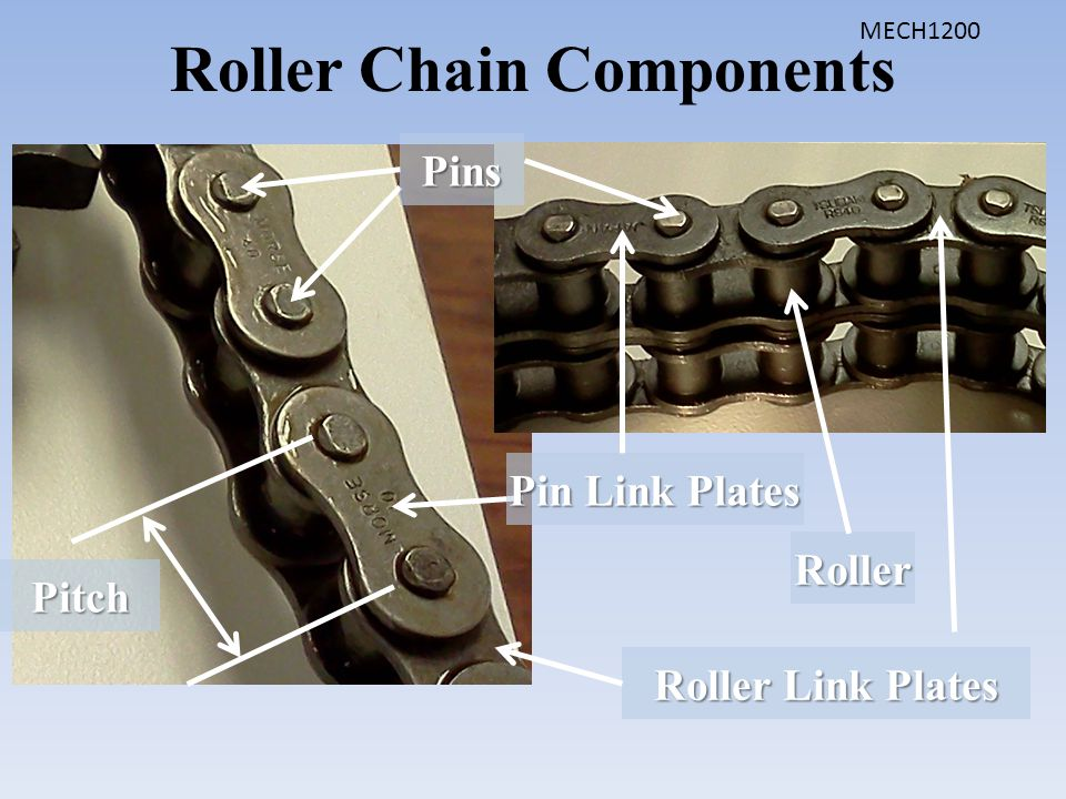 Roller Chain Components