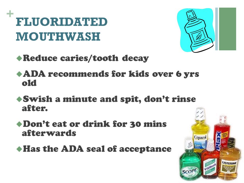 FLUORIDATED MOUTHWASH