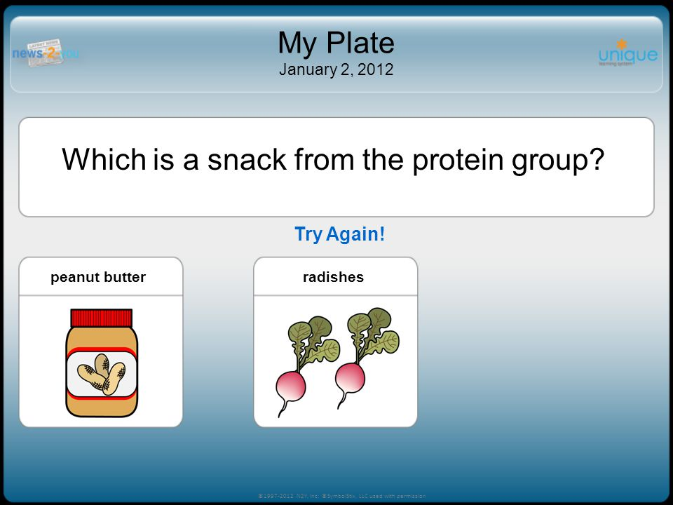 Which is a snack from the protein group
