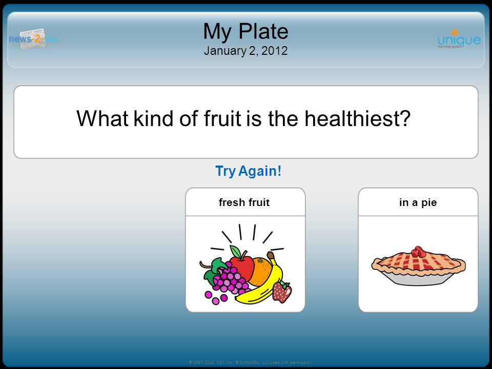 What kind of fruit is the healthiest