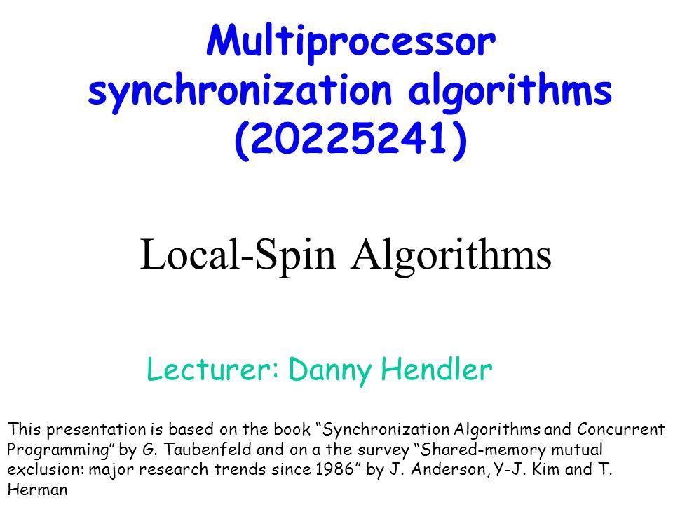 Local-Spin Algorithms
