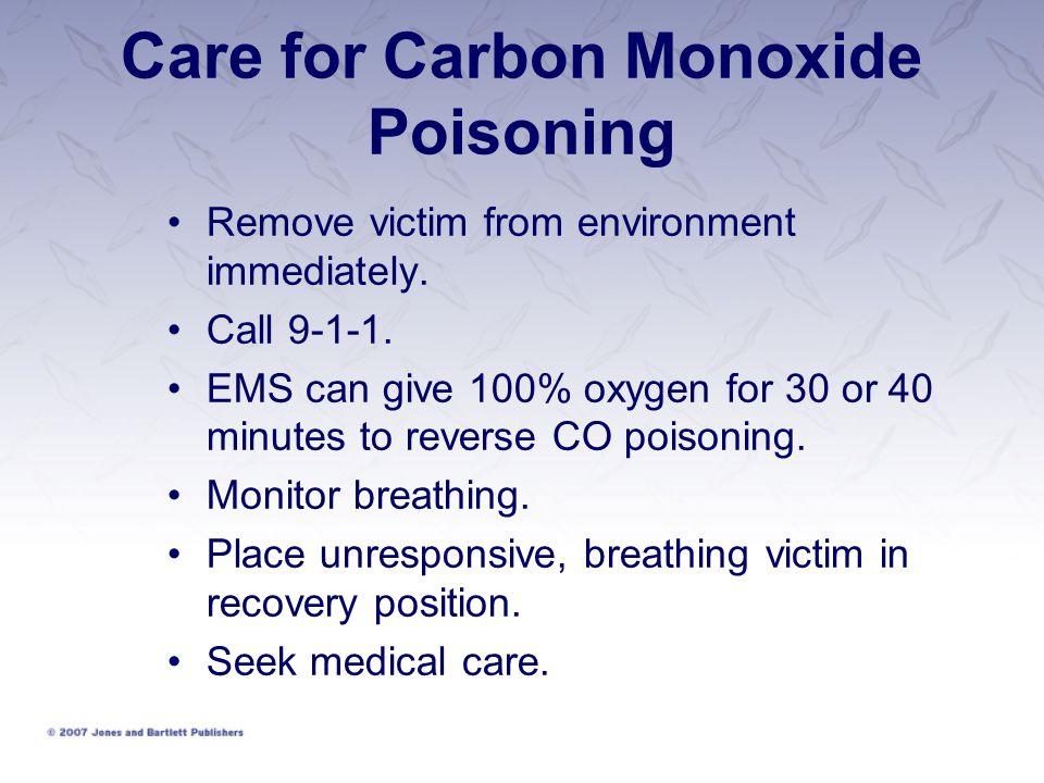 Care for Carbon Monoxide Poisoning