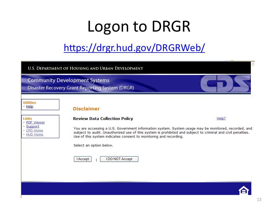 https://drgr.hud.gov/DRGRWeb/