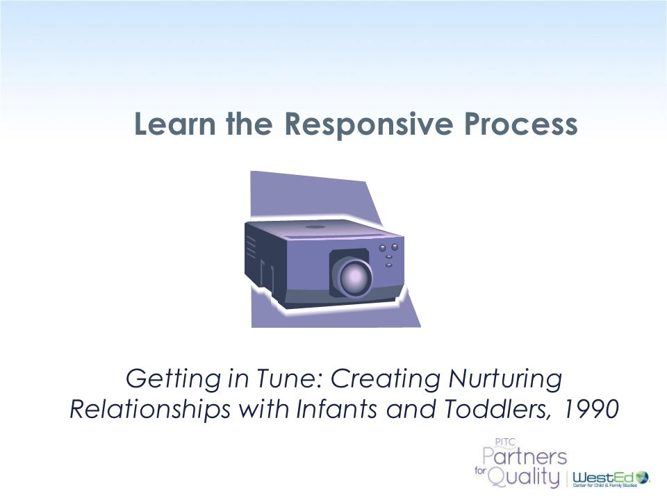 Learn the Responsive Process