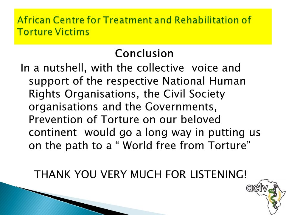 African Centre for Treatment and Rehabilitation of Torture Victims