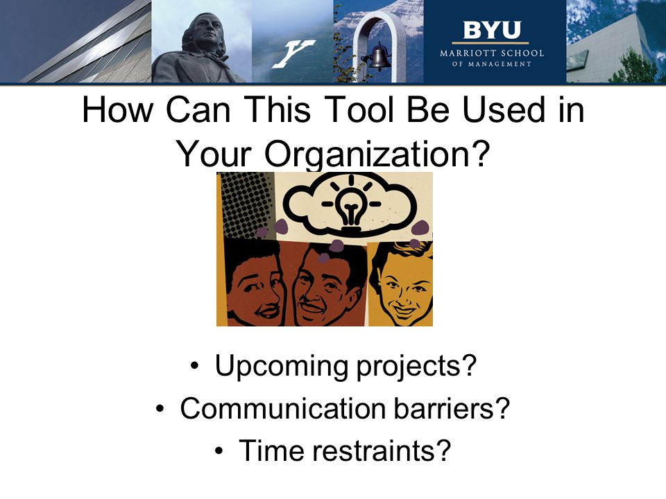 How Can This Tool Be Used in Your Organization