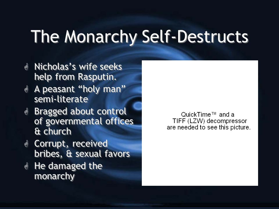 The Monarchy Self-Destructs