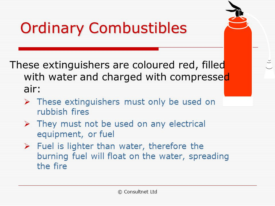 Ordinary Combustibles