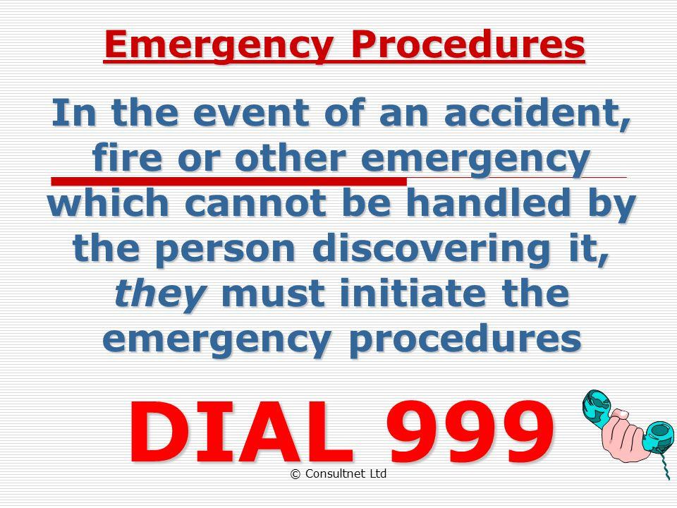 DIAL 999 Emergency Procedures
