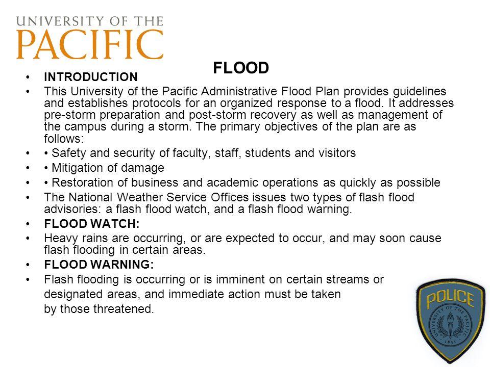 FLOOD INTRODUCTION.