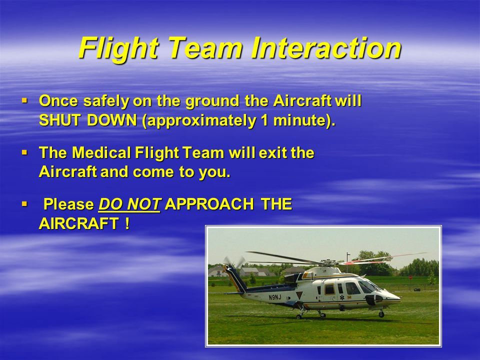 Flight Team Interaction